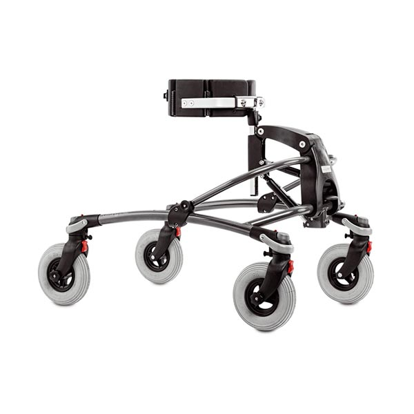 The Etac/R82 Mustang pediatric folding gait trainer