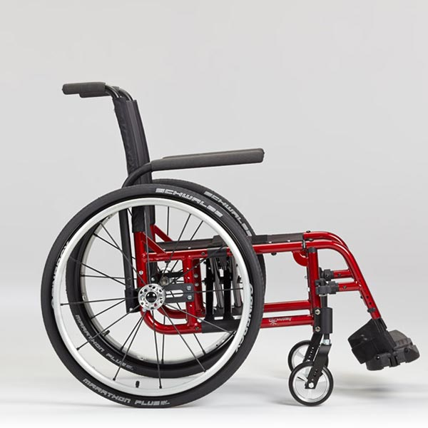 Ki Mobility Catalyst Folding Manual Wheelchair