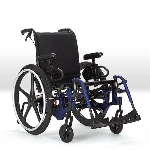 Ki Mobility Liberty FT adult folding tilt-in-space manual wheelchair