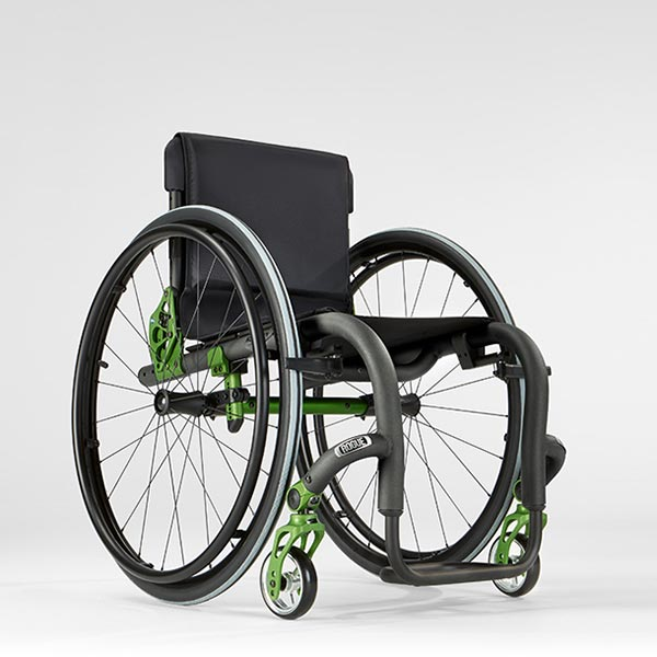 Ki Mobility Rogue XP Pediatric Wheelchair side view