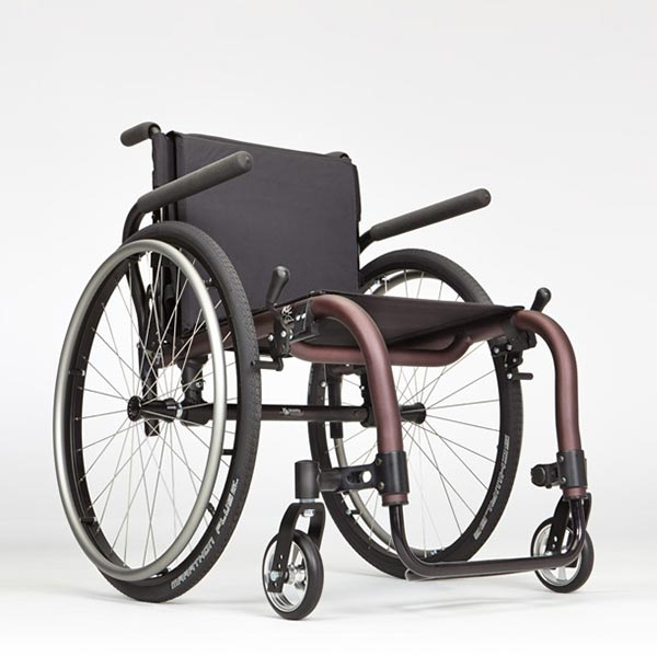 Ki Mobility Tsunami ALX Manual Wheelchair side view