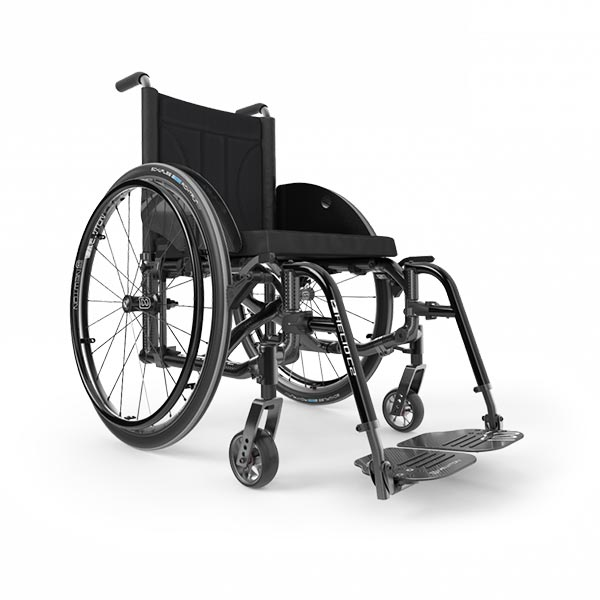 Motion Composites Helio C2 Folding Manual Wheelchair side view