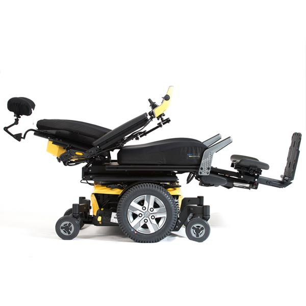 Quantum Q6 Edge 2.0 MWD Power Wheelchair reclined