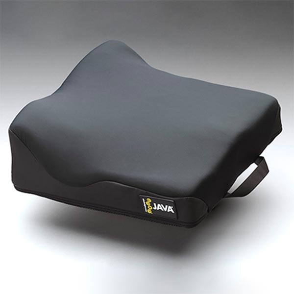 RIde Designs Java Wheelchair Cushion with spandex covering