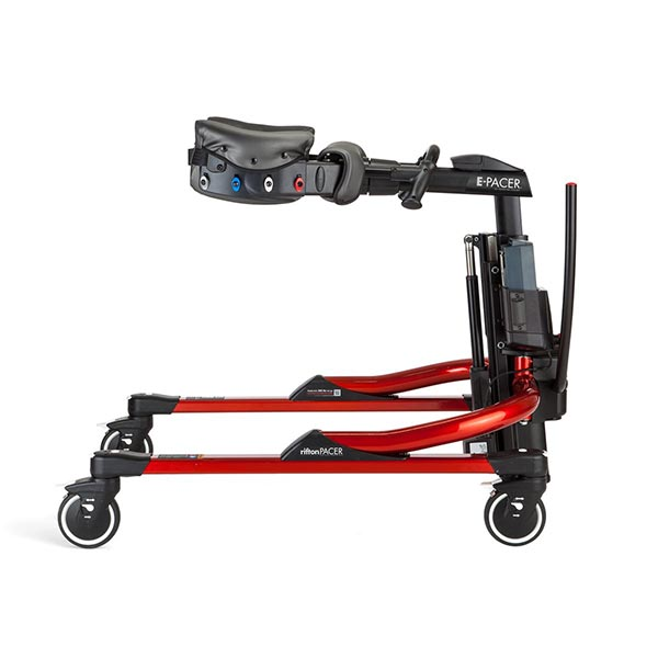 Rifton E-Pacer Adult Gait Trainer side view