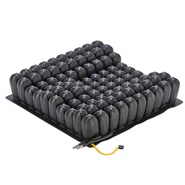 ROHO® ENHANCER® Dual-Compartment Wheelchair Cushion without covering