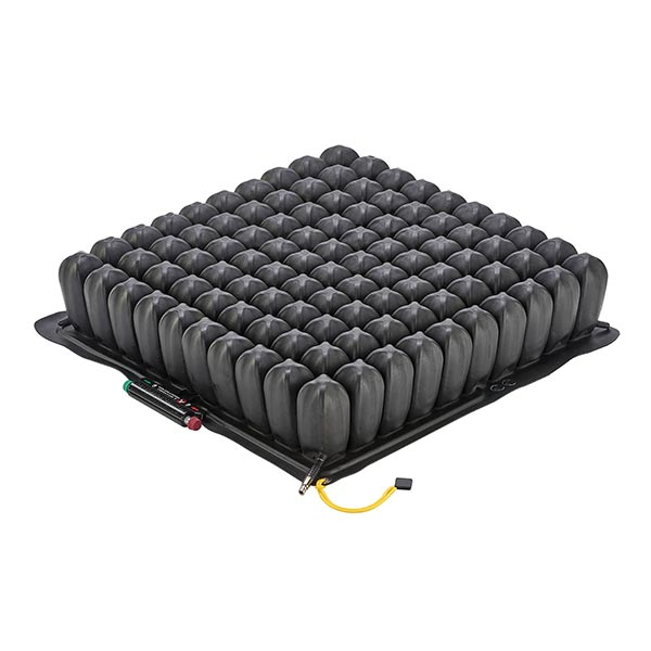 The ROHO QUADTRO SELECT HIGH PROFILE wheelchair cushion without covering