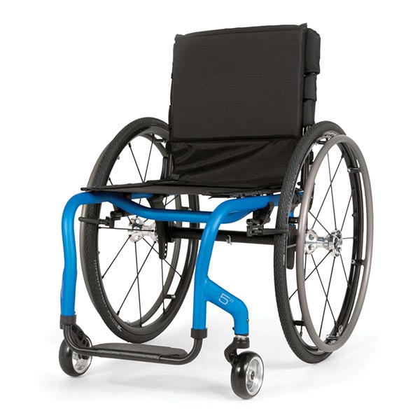 Sunrise Medical Quickie 5R Lightweight Rigid Wheelchair front view
