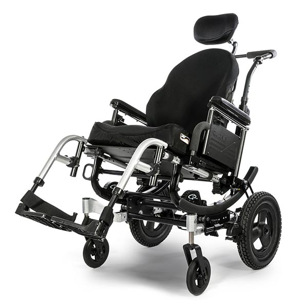 Sunrise Medical Quickie Iris Tilt-in-Space Manual Wheelchair front view