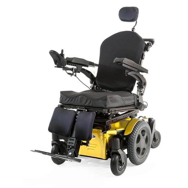 Sunrise Medical Quickie Pulse Electric Power Wheelchair front view