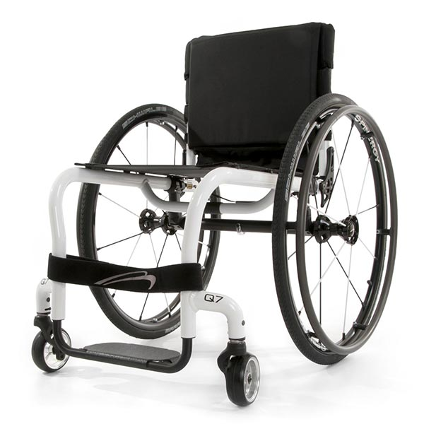 Sunrise Medical Quickie Q7 Lightweight Manual Wheelchair front view