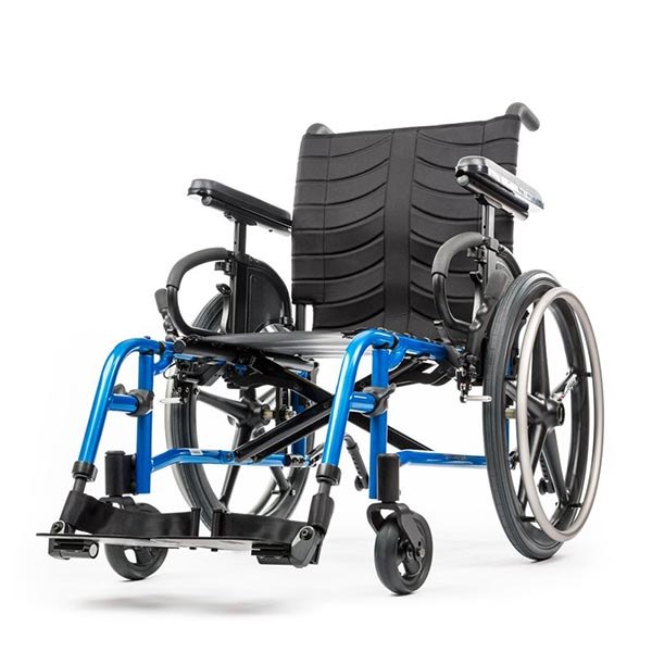 Sunrise Medical Quickie QXi Folding Manual Wheelchair front view