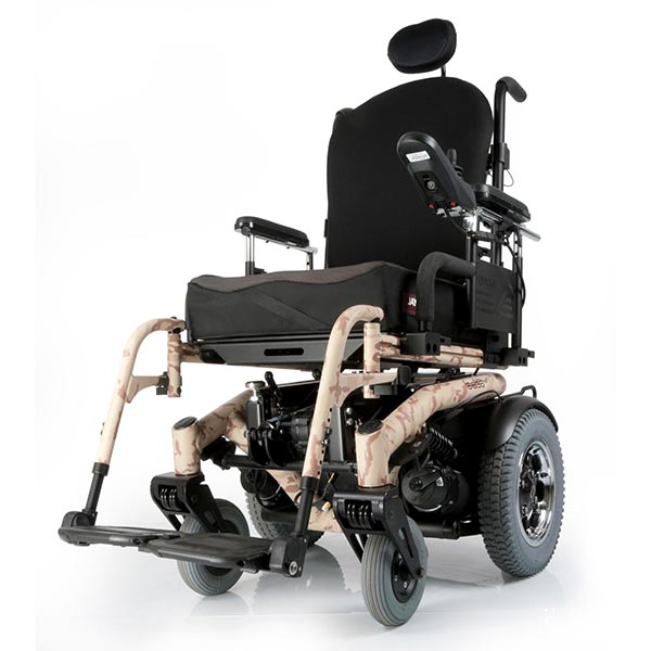 Sunrise Medical Quickie S-6 Series Electric Power Wheelchair front view
