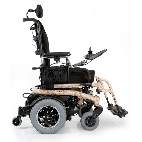 Sunrise Medical Quickie S-6 Series Electric Power Wheelchair side view