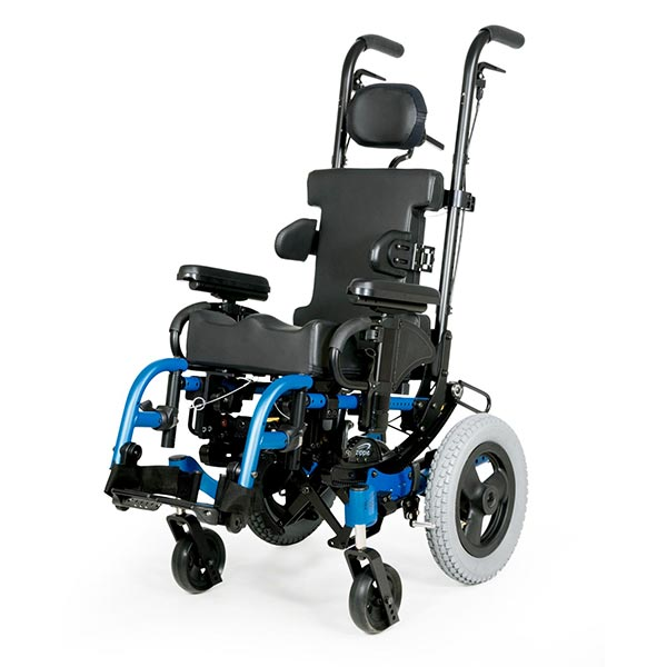 Sunrise Medical Zippie IRIS Pediatric Tilt-in-Space Wheelchair front view