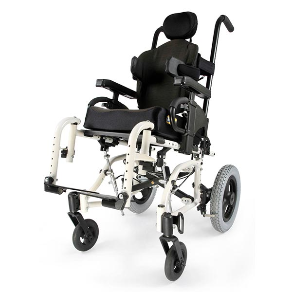 Sunrise Medical Zippie TS Pediatric Tilt-in-Space Wheelchair front view