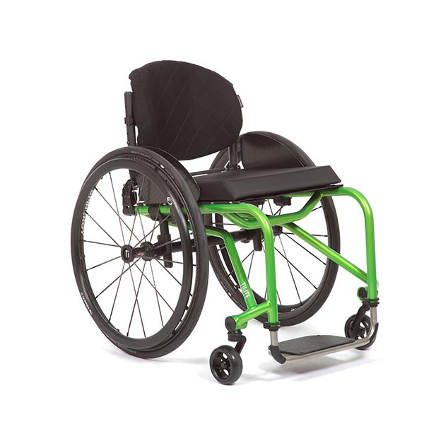 TiLite Aero T Lightweight Rigid Manual Wheelchair front view