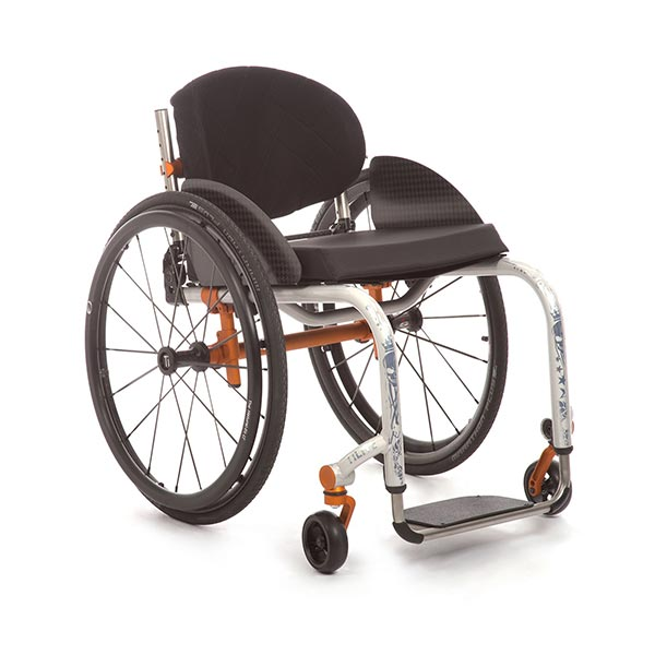 TiLite Aero Z Lightweight Rigid Manual Wheelchair front view