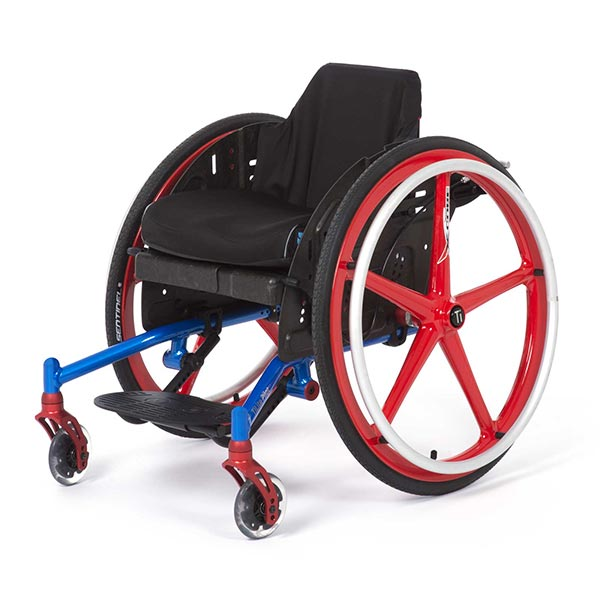 TiLite Pilot Pediatric Manual Wheelchair front view