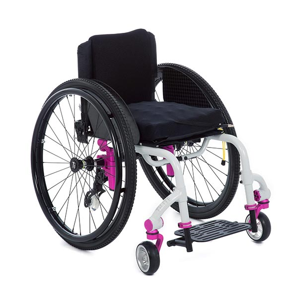 TiLite TWIST Pediatric Rigid Manual Wheelchair front view