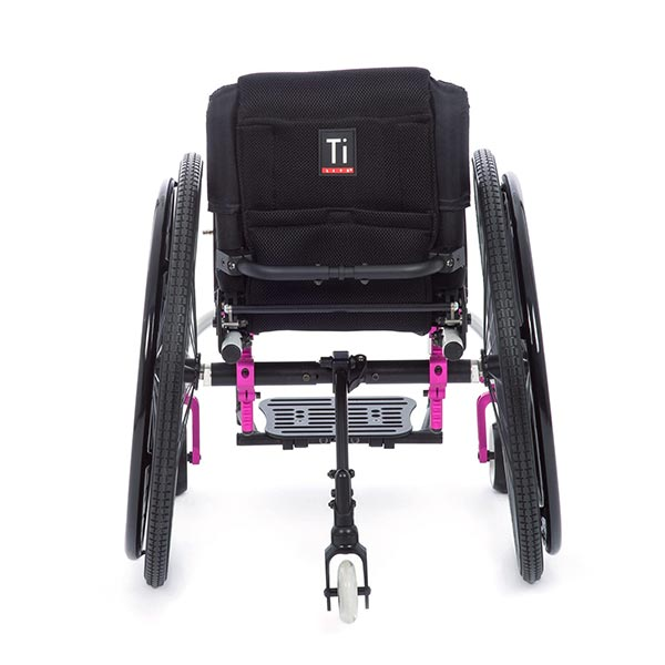 TiLite TWIST Pediatric Rigid Manual Wheelchair back view